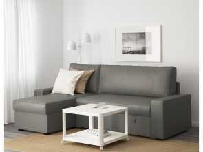 ikea.es vilasund VILASUND Sofa, with chaise longue Borred grey-green Freddo 5 Ikea.Es Vilasund