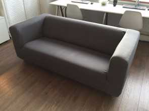 ikea klippan 2 seater sofa cover Ikea Klippan 2 Seat Sofa Excellent Condition Grey Cover Living Deale 5 Ikea Klippan 2 Seater Sofa Cover