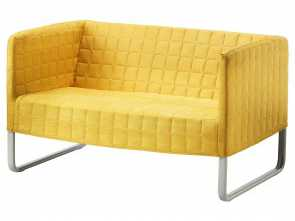 Ikea Klippan Gelb, Esotico KNOPPARP Loveseat, Bright Yellow, IKEA, Cindy'S Home Office