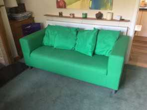 ikea klippan green Nearly, Two Seater Sofa from IKEA (KLIPPAN Flackarp Green), in Oxford, Oxfordshire, Gumtree Magnifico 5 Ikea Klippan Green