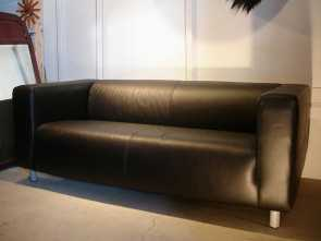 ikea klippan leather cover Ikea Leather Sofa, only $199, Deals, Airbnb Elegante 5 Ikea Klippan Leather Cover