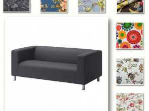 Costoso 5 Ikea Klippan Sofa Cover Ebay