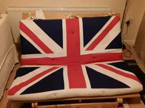 Ikea Union Jack Futon, Completare Ikea Union Jack Futon, In Farnborough, Hampshire, Gumtree