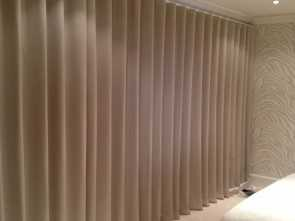 Ikea Vidga Stoffe, Classy Wave Heading On Motorised Track, Fabric #Evitavonni #Interiordesign #Curtains