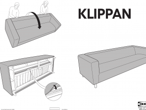 klippan ikea manual Ikea Klippan 4 Seat Sofa Cover Assembly Instruction Incredibile 6 Klippan Ikea Manual