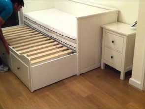 Letto Divano Hemnes, Freddo IKEA Hemnes Day-Bed Trundle Guest Bed, Stolmen Storage Design, Before & After