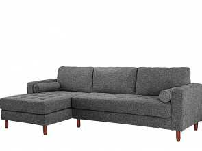 Mini Divano Amazon, Freddo Amazon.Com: Divano Roma Furniture Mid-Century Modern Tufted Fabric Sectional Sofa, L-Shape Couch With Extra Wide Chaise Lounge (Dark Grey): Kitchen & Dining