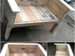 Pallet Na Loja Leroy Merlin, Deale Recycled Wood Pallet Bench, Muebles, Pinterest, Wood Pallets