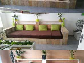 Poltrona Letto Pallet, Magnifico 12 Easy Pallet Sofas, Coffee Tables To, In, Afternoon, Page 2 Of, A Piece Of Rainbow