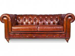 poltrone sofa divano a l Divano Chesterfield Churchill Lounge 2 posti Costoso 4 Poltrone Sofa Divano A L