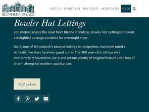 q molteni lettings Charming 18th Century, 2 Bedroom cottage, in, heart of historic Woodstock, HomeAway Freddo 5 Q Molteni Lettings