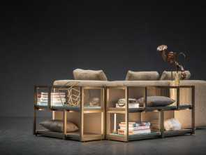 retrodivano design NATEVO, CONTINUUM BEHIND SOFA UNIT Originale 5 Retrodivano Design