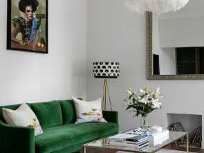 Sognare Divano Verde, Loveable How To, Luxury To A One-Bedroom Apartment. Photography By Nathalie Priem