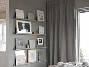 Telo Copridivano Ikea, Casuale This Is Such A Simple, To Make A Wall Display Using, IKEA Picture Shelves