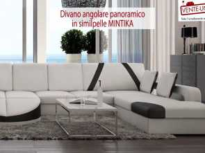 vente unique divani Divano angolare panoramico MINTIKA. Vente-unique·it Ideale 4 Vente Unique Divani