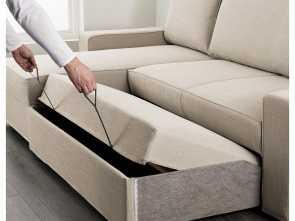 Vilasund Ikea Instructions, Incredibile VILASUND Sofa, With Chaise Longue Hillared Beige