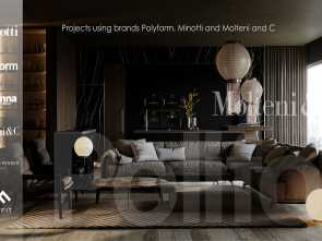W Molteni Lettings, Sbalorditivo Projects Using Poliform, Minotti, Molteni, C On Behance