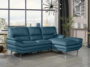 Www.Divano Sofa, Buono Divano Roma Furniture Living Room Leather Sectional Sofa, L-Shape Couch With Chaise Lounge (Camel), Walmart.Com