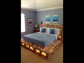 Youtube Divano, Pallet, Superiore Arredare, Camera, I Pallets, Furnishing A Bedroom With Pallets