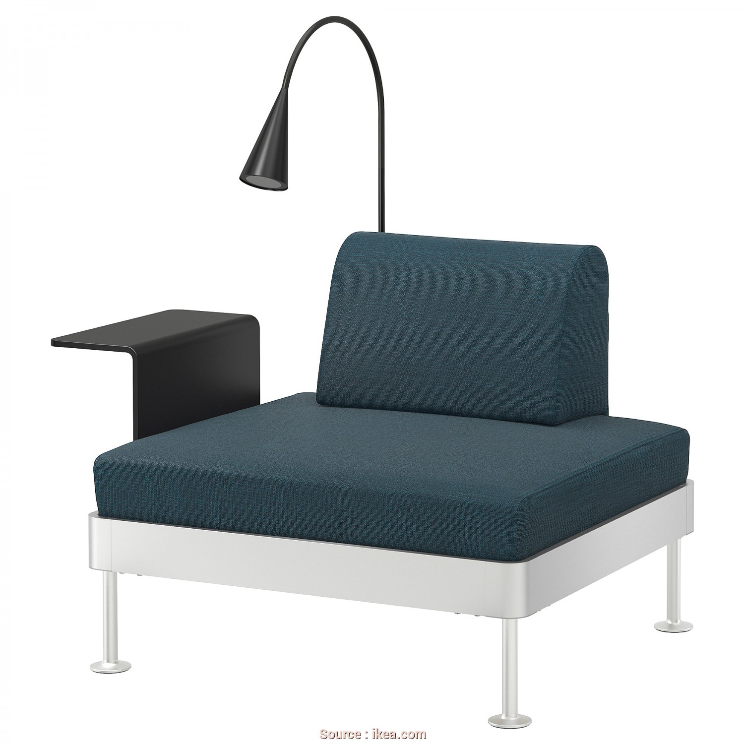 Vendo Futon Ikea, Rustico IKEA DELAKTIG Armchair With Side Table, Lamp, Zipper Makes, Cover Easy To Remove