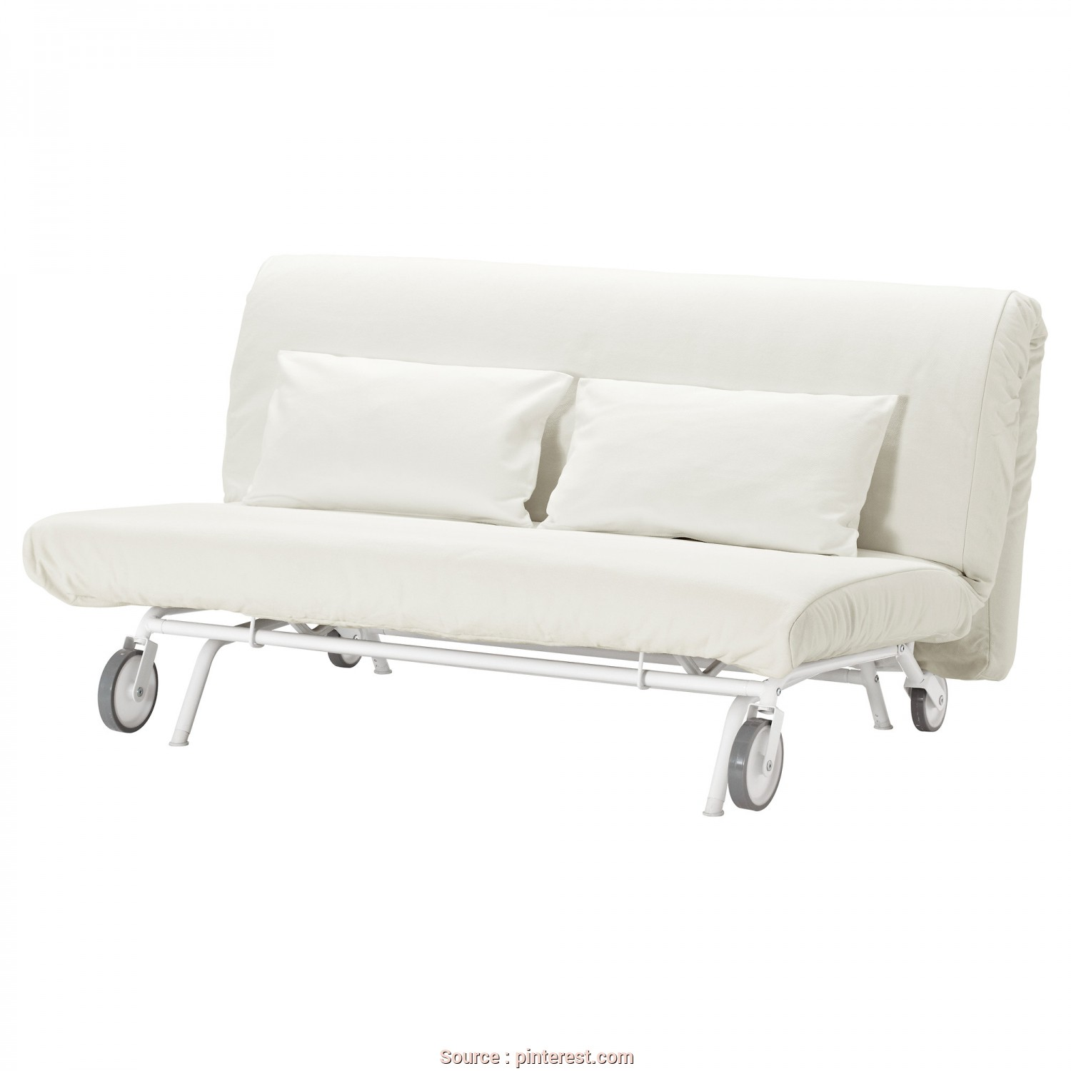 Vilasund Bettsofa Ikea, Loveable IKEA, IKEA PS LÖVÅS, Two-Seat Sofa-Bed, Gräsbo White,, Extra Covers To Alternate With Mean It&Apos;S Easy To Give Both Your Sofa, Room A, Look