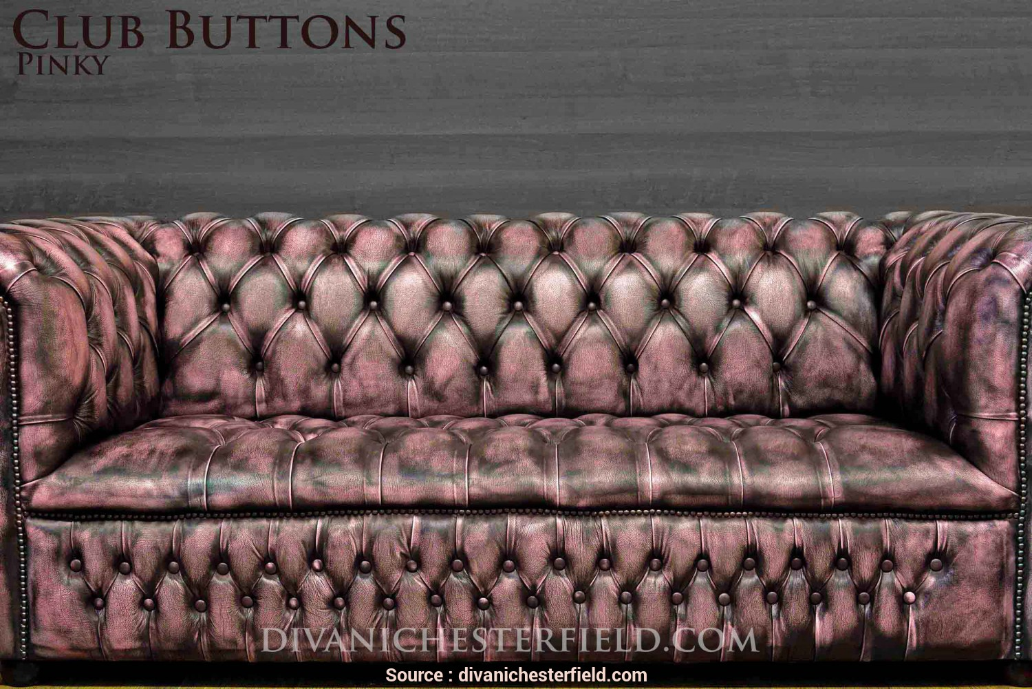 Loveable 5 Divano Chesterfield Moderno