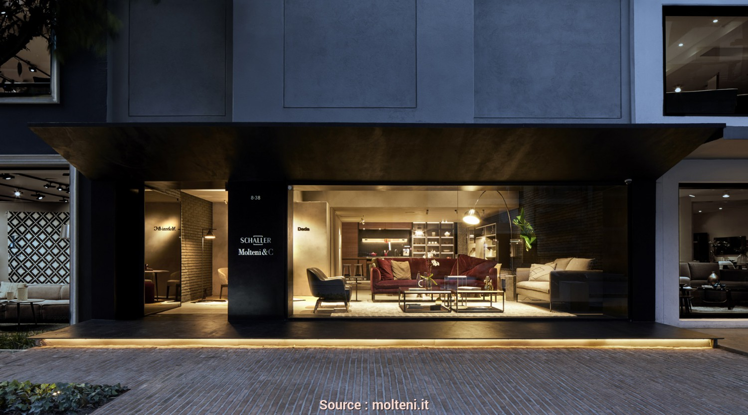 H Molteni Lettings, Casuale New Opening Bogotà Boutique