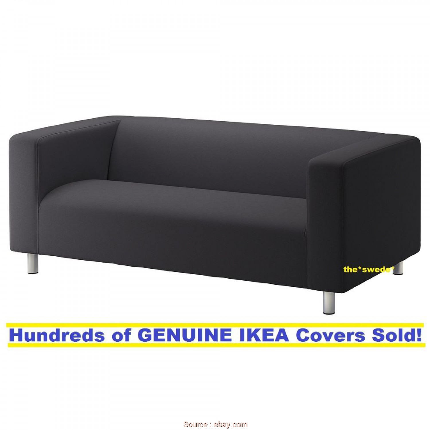 Ikea Klippan 3 Seater Sofa Covers, Amabile Details About ...