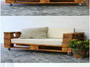 divano con pallet paint your life Outdoor Bench Ideas made with recycled wooden pallets, pallet furniture, pallet outdoor project, Garden Bench #OutdoorBench #GardenBench Sbalorditivo 6 Divano, Pallet Paint Your Life