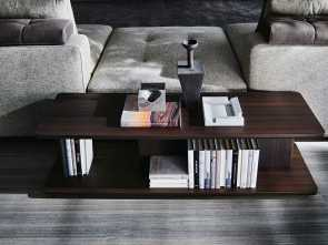 H Molteni Lettings, Classy Hugo Is A Multi-Purpose Occasional Table Destined To Complete Seating Systems, To Facilitate More Dynamic, Functional Compositions