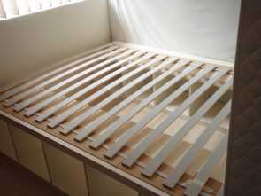ikea futon wooden slats Pictures of ikea futon slats i expect i will have to fasten, slats down more Ideale 4 Ikea Futon Wooden Slats