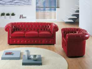 sb salotti apollo Chesterfield sofa / leather / 3-seater / brown. CHESTER Poles Salotti Esotico 4 Sb Salotti Apollo