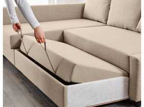 vilasund sofa bed ikea uk IKEA, FRIHETEN Corner sofa-bed with storage Skiftebo beige in Elegante 6 Vilasund Sofa, Ikea Uk